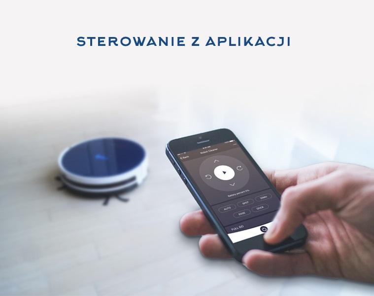 sterowanie robotem za pomocą aplikacji w telefonie